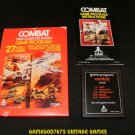 Combat - Atari 2600 - Complete CIB - 1978 Text Label Version