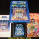 Video Pinball - Atari 2600 - Complete CIB
