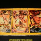 Indiana Jones The Adventure Collection - VHS - 3 Tape Set