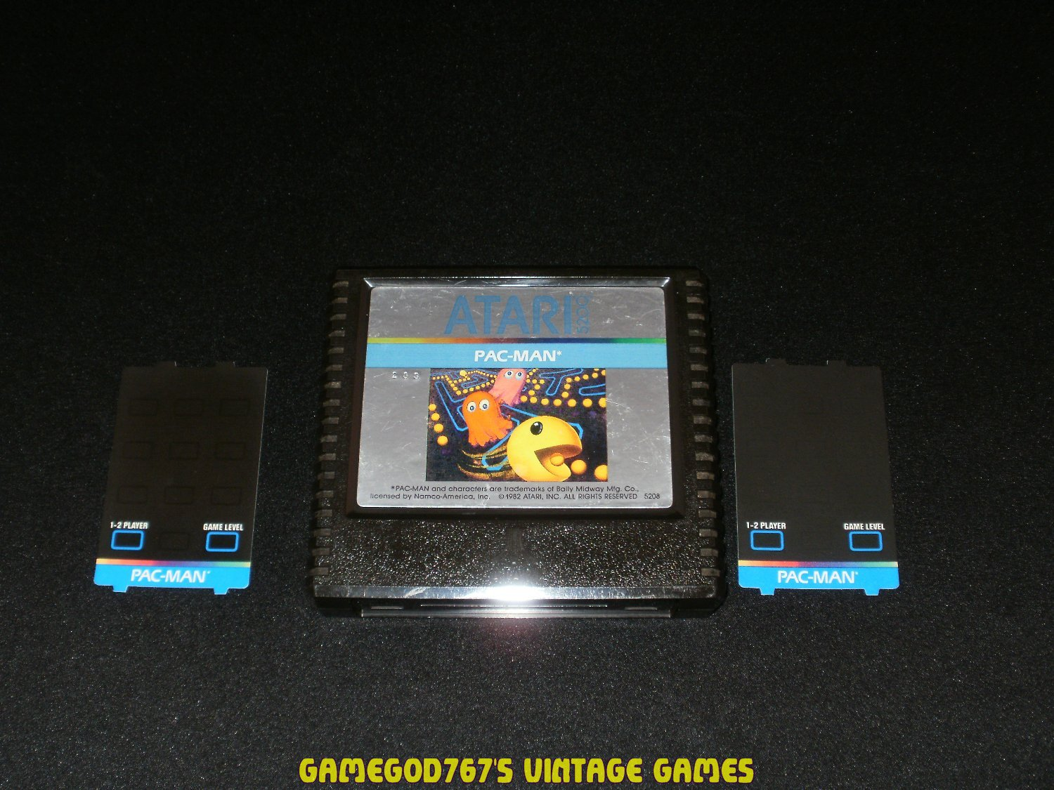 Pac-Man - Atari 5200 - With 2 Overlays