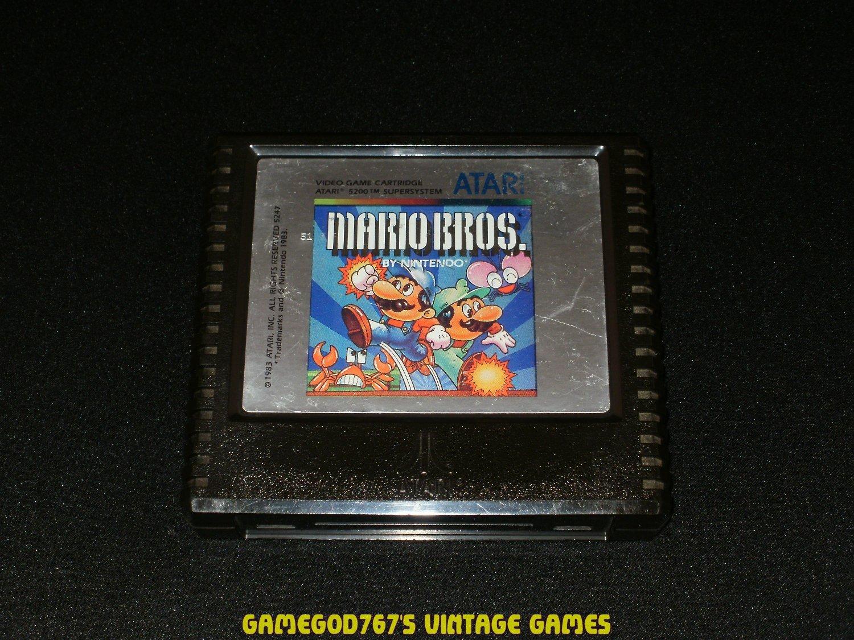 Mario Bros - Atari 5200