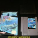 Silent Service - Nintendo NES - With Box & Cartridge Sleeve