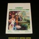 Casino - Atari 2600 - 1981 Manual Only