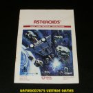 Asteroids - Atari 2600 - 1981 Manual Only