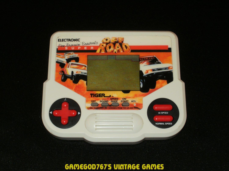Super Off Road - Vintage Handheld - Tiger Electronics 1988 - Refurbished