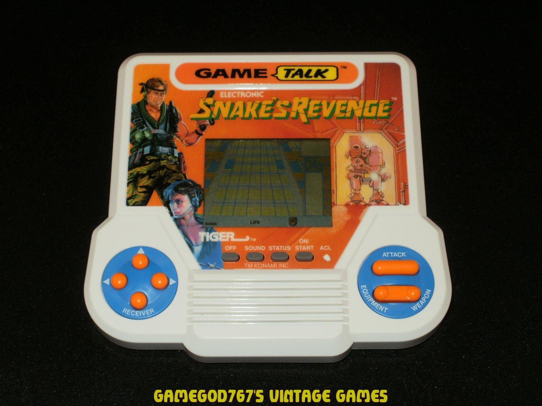 Snake's Revenge - Vintage Handheld - Tiger Electronics 1991