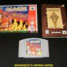 Mace The Dark Age - N64 Nintendo - With Manual & Custom Case