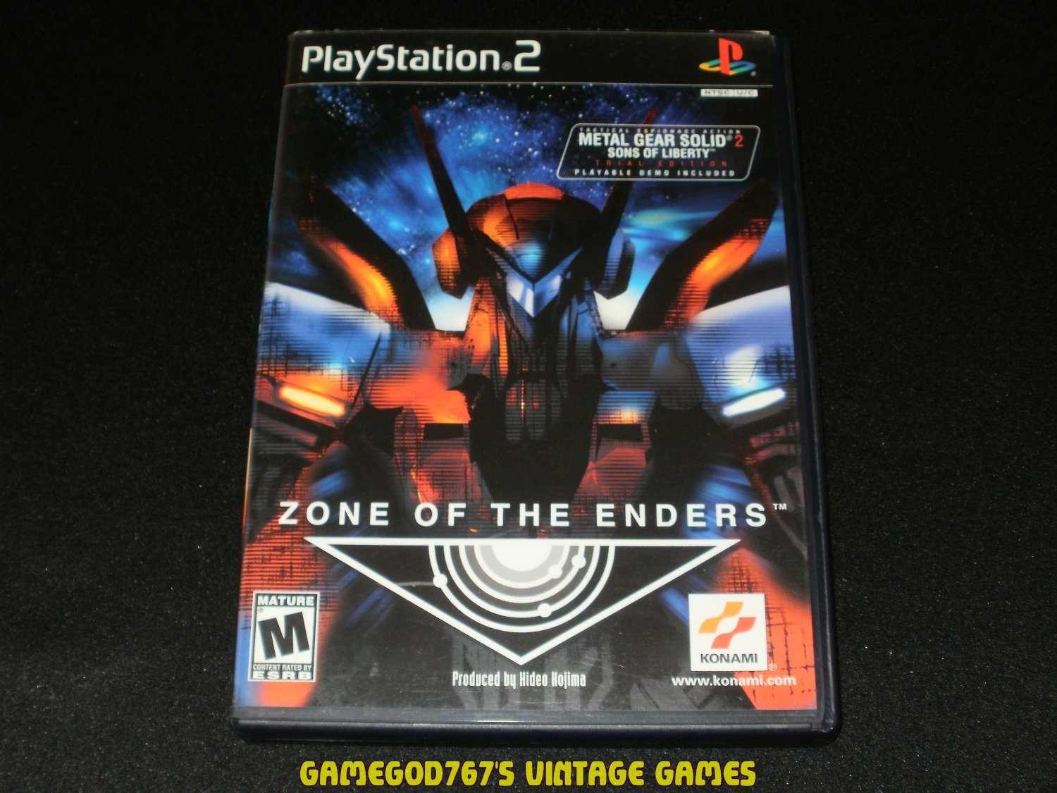 Zone of the Enders - Sony PS2 - Complete CIB