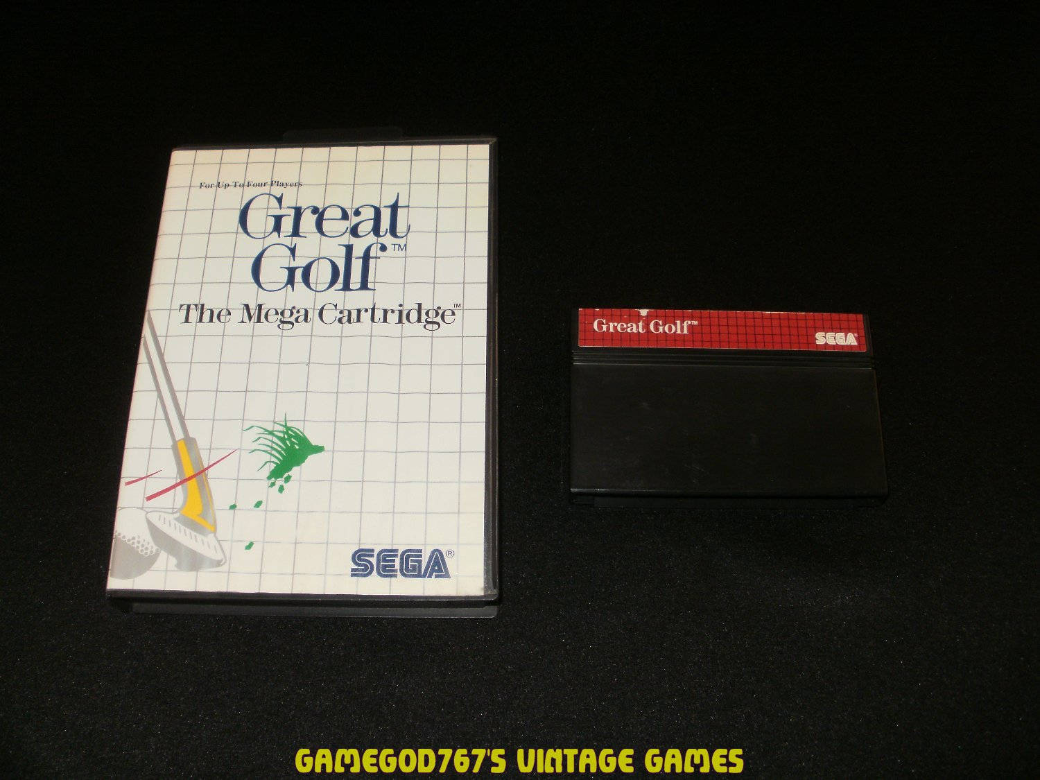 Great Golf - Sega Master System - With Box