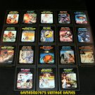 Atari 2600 Game Collection - With Cartridge Case - Set Includes 18 Classics