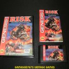 Risk - Sega Genesis - Complete CIB