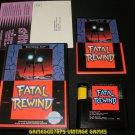 Fatal Rewind - Sega Genesis - Complete CIB
