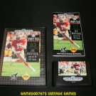 NFL Sports Talk Football 93 - Sega Genesis - Complete CIB