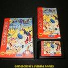 Ren & Stimpy Show Presents Stimpy's Invention - Sega Genesis - Complete CIB