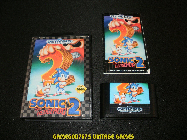 Sonic the Hedgehog 2 - Sega Genesis - Complete CIB