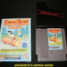 Super Team Games - Nintendo NES - With Box & Cartridge Sleeve