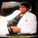 Michael Jackson Thriller - LP Record - Epic 1982