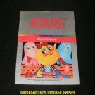 Ms Pac-Man - Atari 2600 - 1982 Manual Only