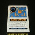 Dark Cavern - Atari 2600 - 1982 Manual Only