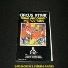 Circus Atari - Atari 2600 - 1980 Manual Only
