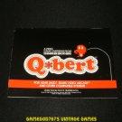 Qbert - Atari 2600 - 1983 Manual Only