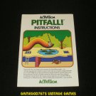 Pitfall - Atari 2600 - 1982 Manual Only
