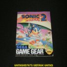 Sonic the Hedgehog 2 - Sega Game Gear - 1992 Manual Only