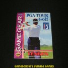 PGA Tour Golf - Sega Game Gear - 1994 Manual Only