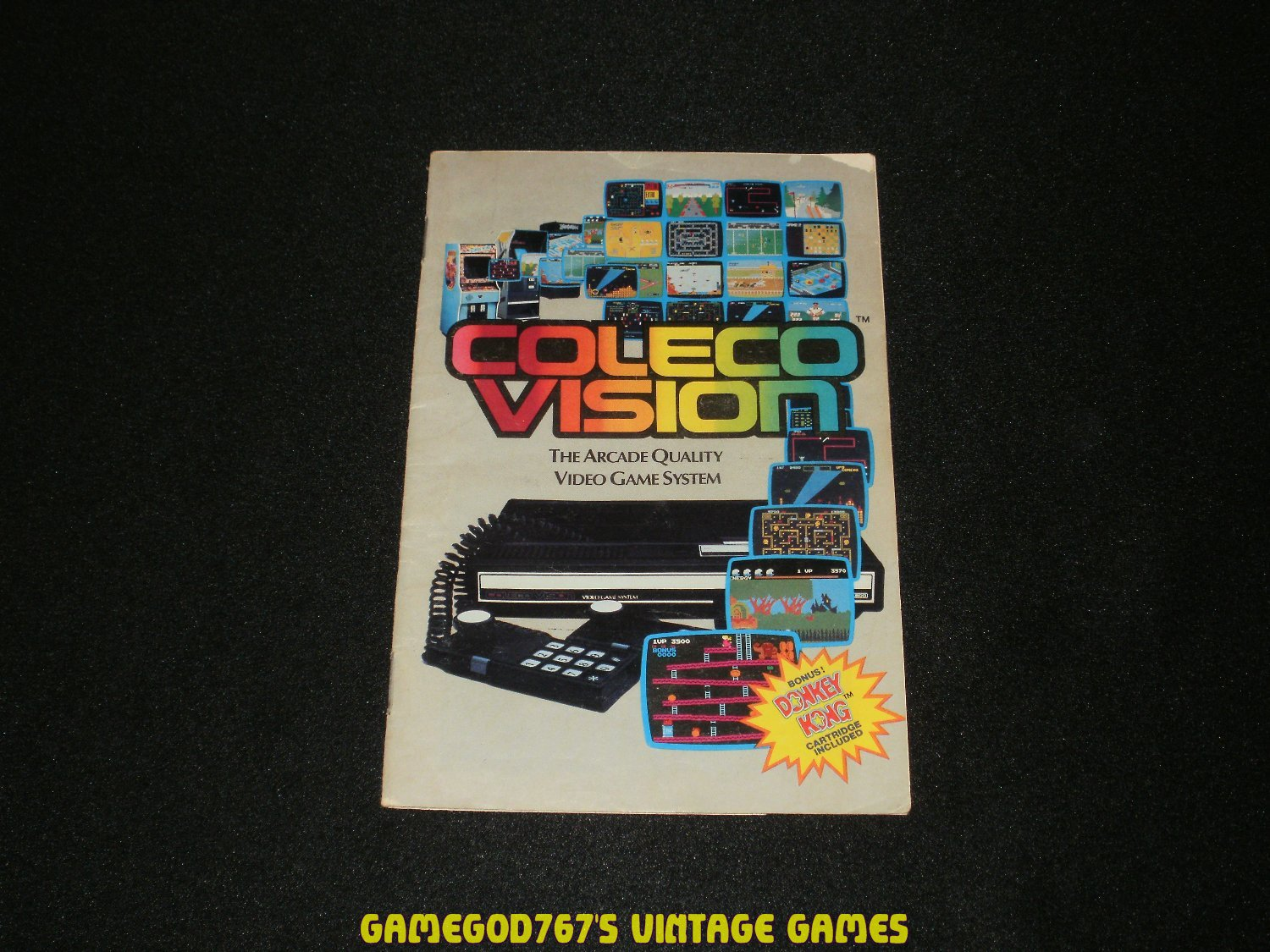 Colecovision Game Catalog (1982)