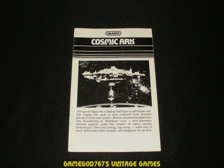 Cosmic Ark - Atari 2600 - 1982 Manual Only
