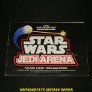 Star Wars Jedi Arena - Atari 2600 - 1983 Manual Only
