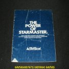 Starmaster - Atari 2600 - Manual Only - Blue Cover