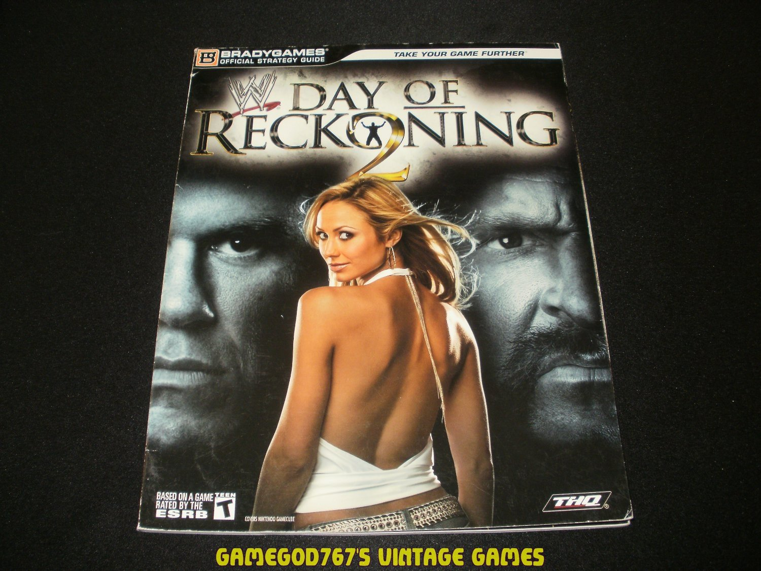 WWE Day of Reckoning 2 Official Strategy Guide - Bradygames (2005) - Paperback