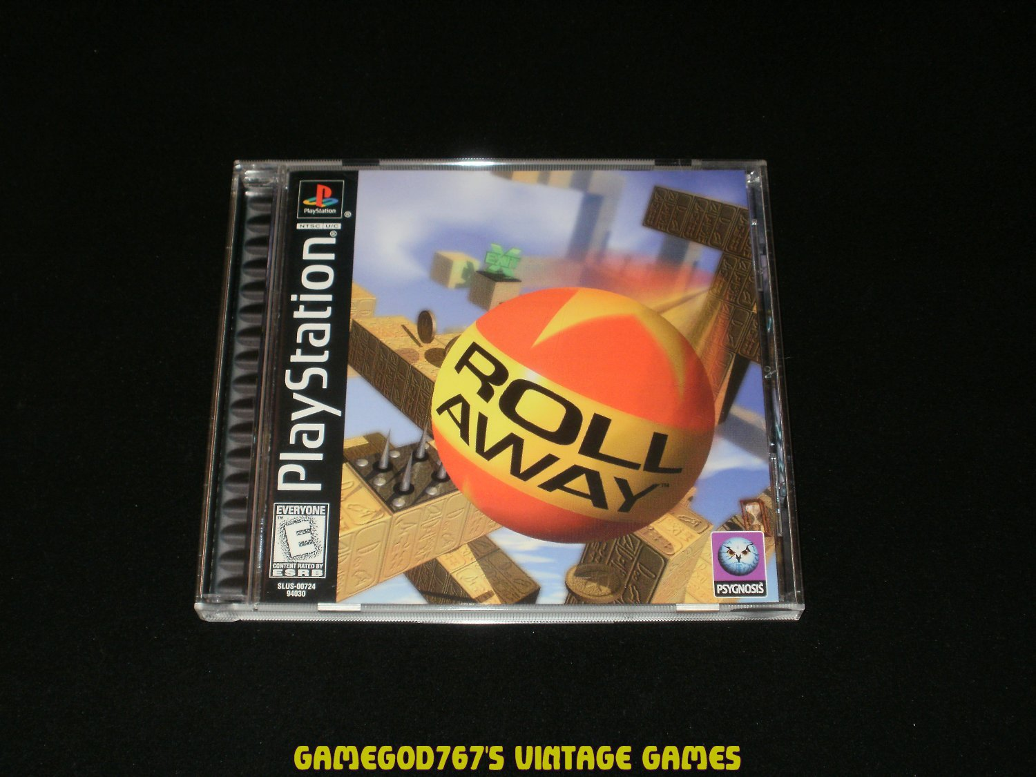 Roll Away - Sony PS1 - Complete CIB