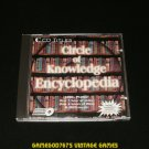 Circle Of Knowledge Encyclopedia - IBM PC - 1996 CD Titles - Complete CIB