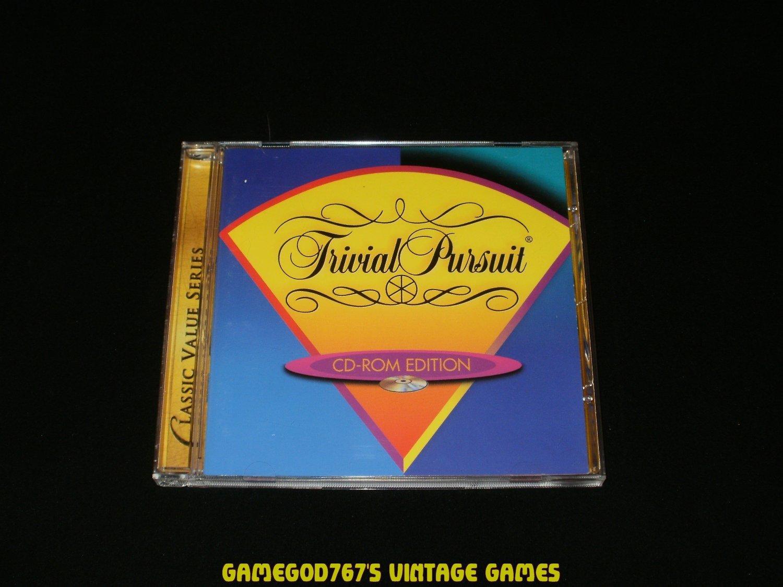 Trivial Pursuit - IBM PC - 1994 Hasbro Interactive - Complete CIB