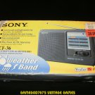 Sony ICF-36 Portable AM/FM/TV/Weather Radio - Complete In Box CIB