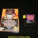 Power Monger - Sega Genesis - With Box