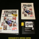 College Football USA 96 - Sega Genesis - Complete CIB