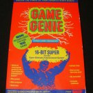 Game Genie - SNES Super Nintendo - With Box
