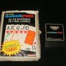 Ken Ustons Blackjack Poker - Colecovision - Complete CIB