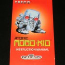 Atomic Robo Kid - Sega Genesis - Manual Only