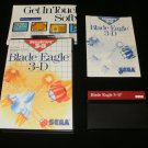Blade Eagle 3D - Sega Master System - Complete CIB