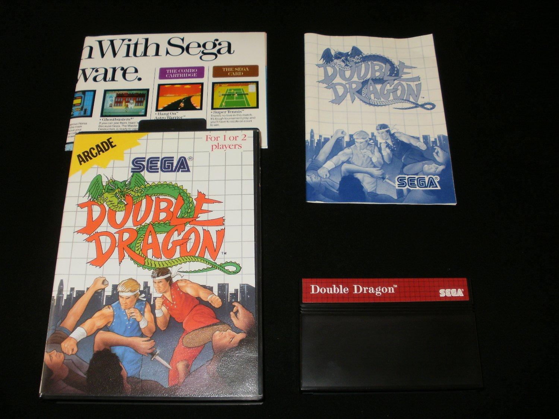 Double Dragon - Sega Master System - Complete CIB