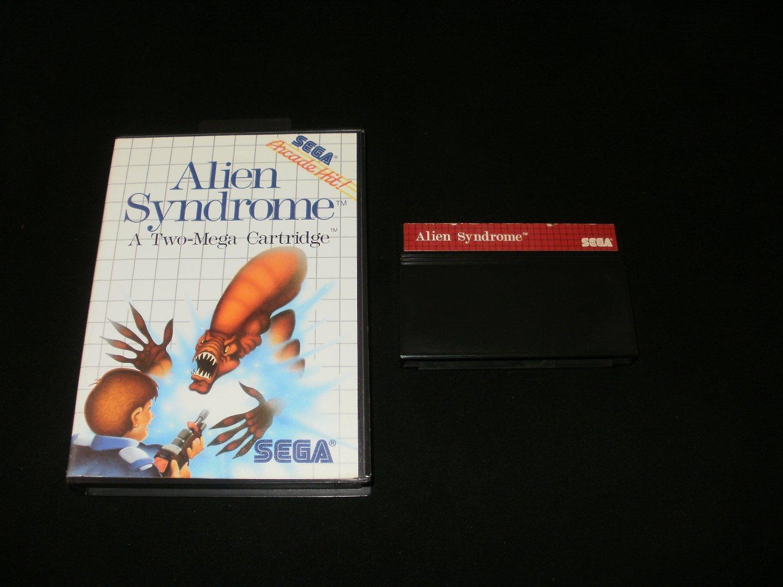 Alien Syndrome - Sega Master System - With Box