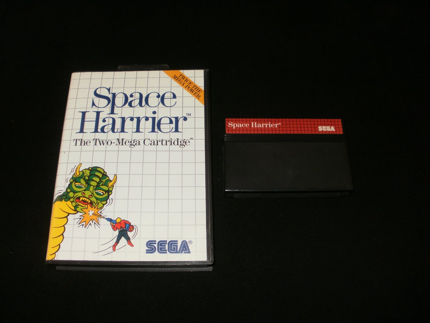 Space Harrier - Sega Master System - With Box
