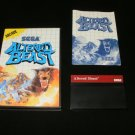 Altered Beast - Sega Master System - Complete CIB