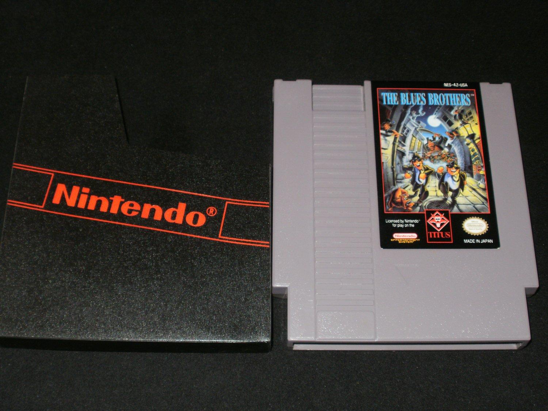 Blues Brothers - Nintendo NES - With Cartridge Sleeve