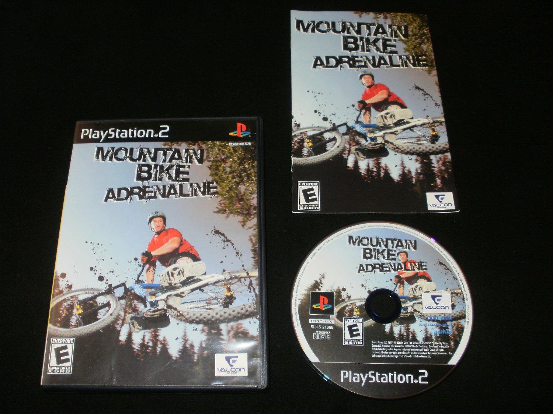 Mountain Bike Adrenaline - Sony PS2 - Complete CIB