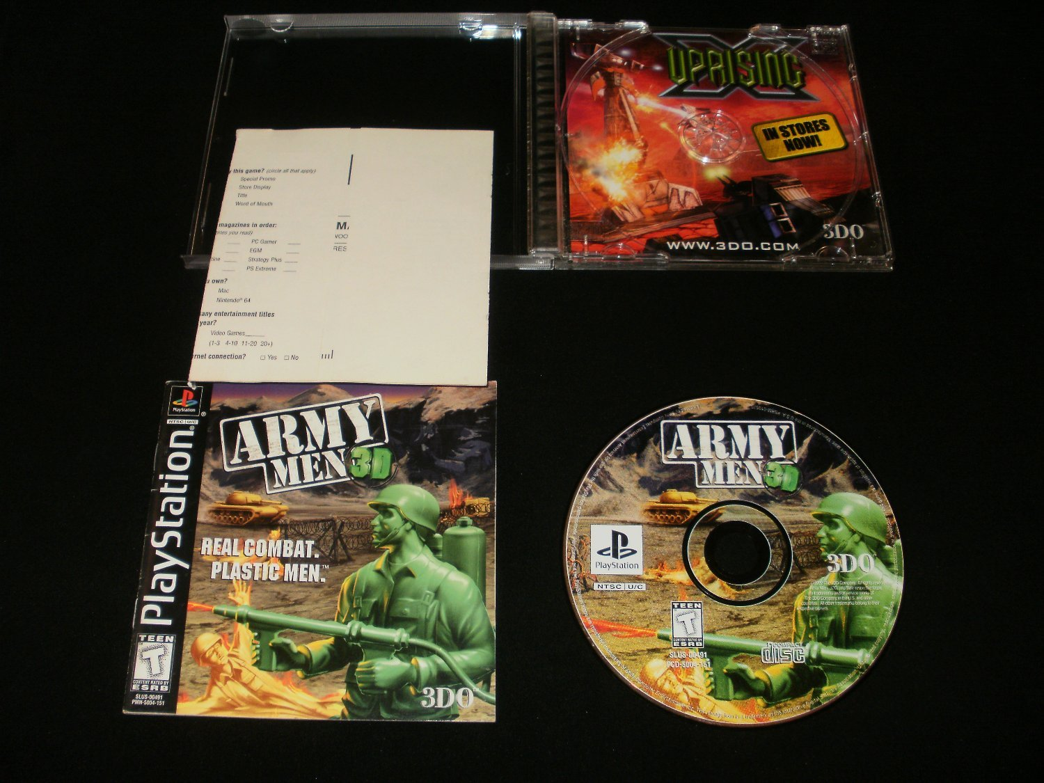 Army Men 3D - Sony PS1 - Complete CIB